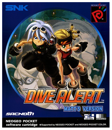 Dive Alert - Matt's Version SNK Neo Geo Pocket cover artwork