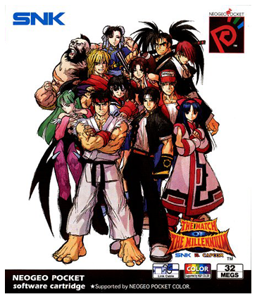 SNK vs. Capcom - The Match of the Millennium SNK Neo Geo Pocket cover artwork
