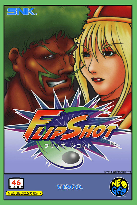 Battle Flip Shot SNK NEO GEO cover artwork