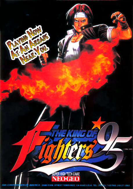 King of Fighters '95, The SNK NEO GEO cover artwork