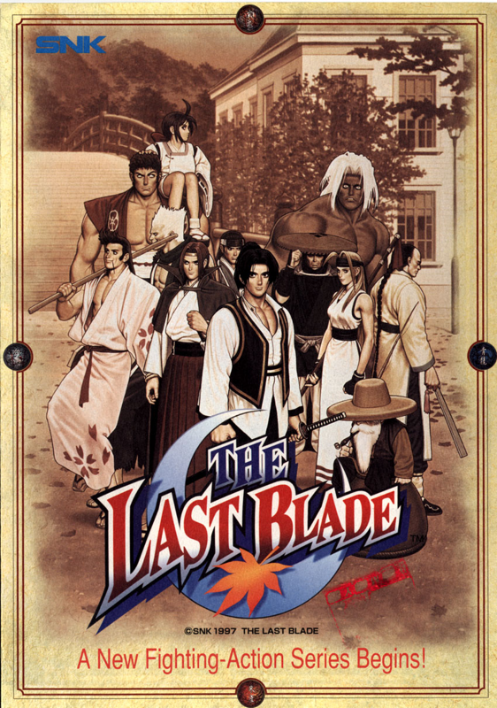 Last Blade, The SNK NEO GEO cover artwork