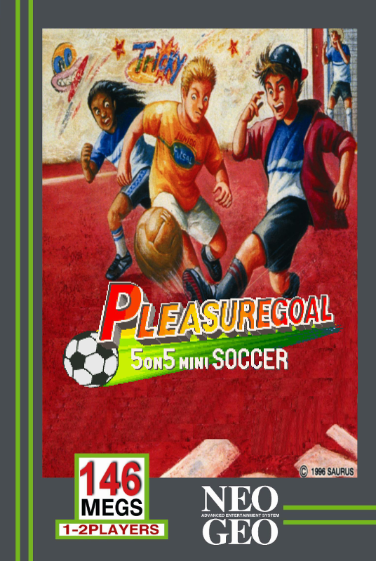 Pleasure Goal SNK NEO GEO cover artwork