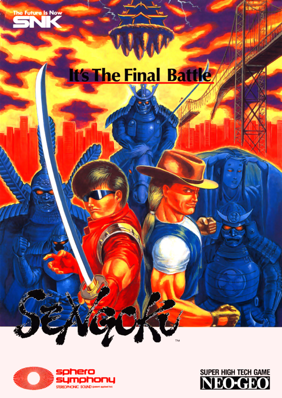 Sengoku SNK NEO GEO cover artwork