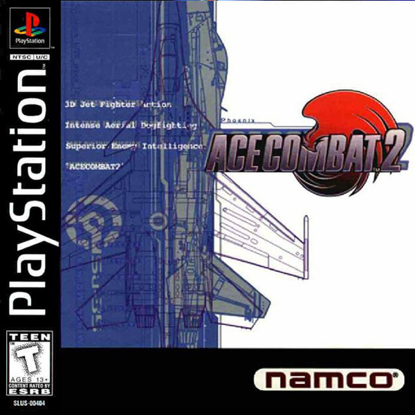 Ace Combat 2 Sony PlayStation cover artwork