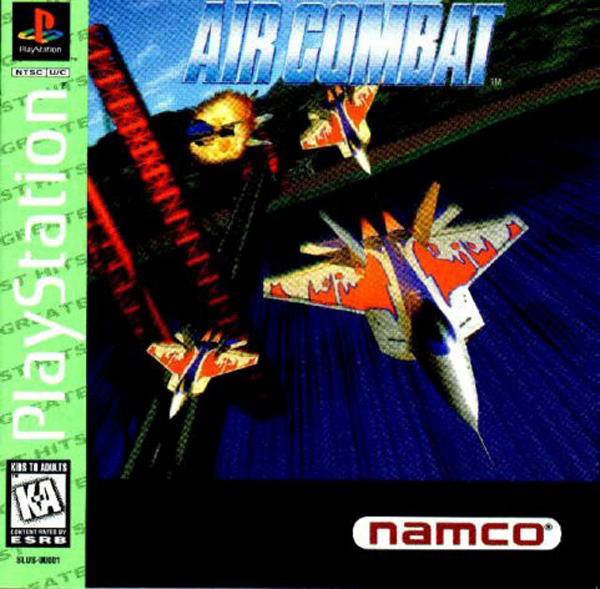 Air Combat Sony PlayStation cover artwork