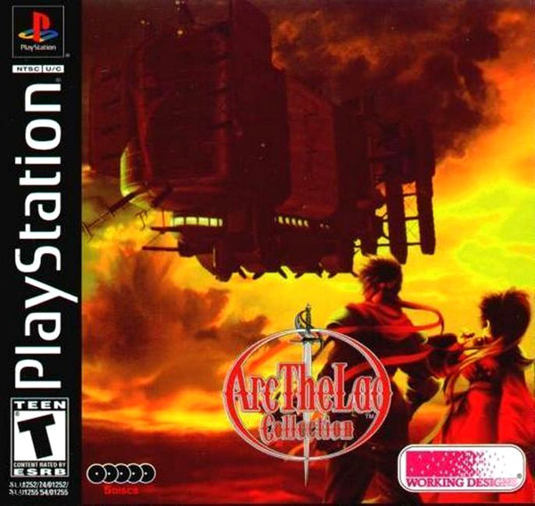 Arc the Lad Collection - Arc the Lad II Sony PlayStation cover artwork
