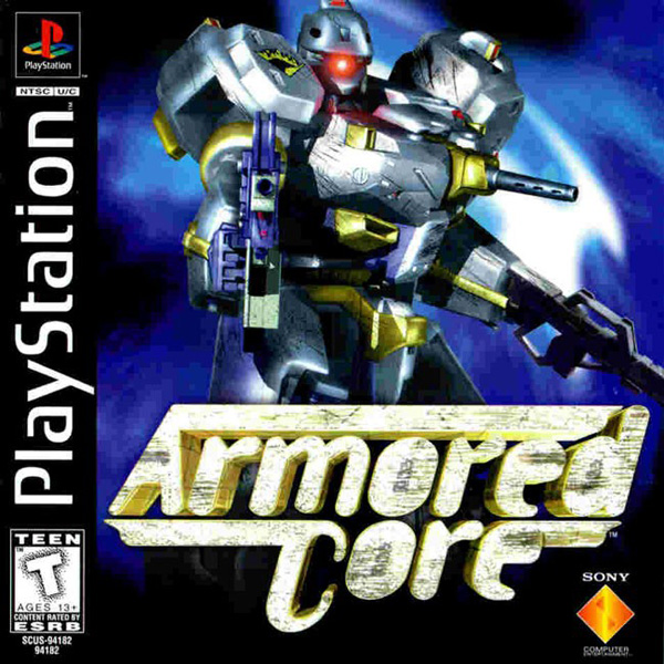 Armored Core Sony PlayStation cover artwork