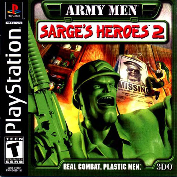 Army Men - Sarge's Heroes 2 Sony PlayStation cover artwork