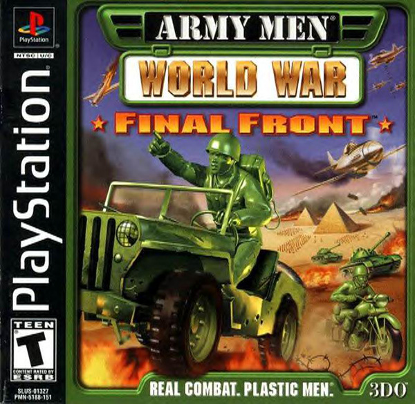 Army Men - World War - Final Front Sony PlayStation cover artwork
