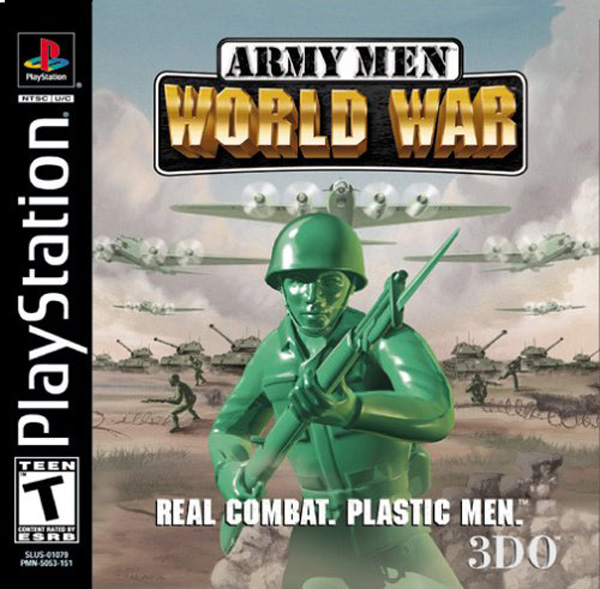 Army Men - World War Sony PlayStation cover artwork