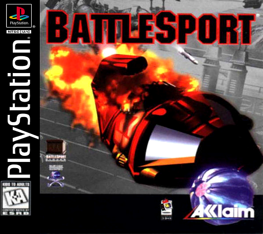 BattleSport Sony PlayStation cover artwork
