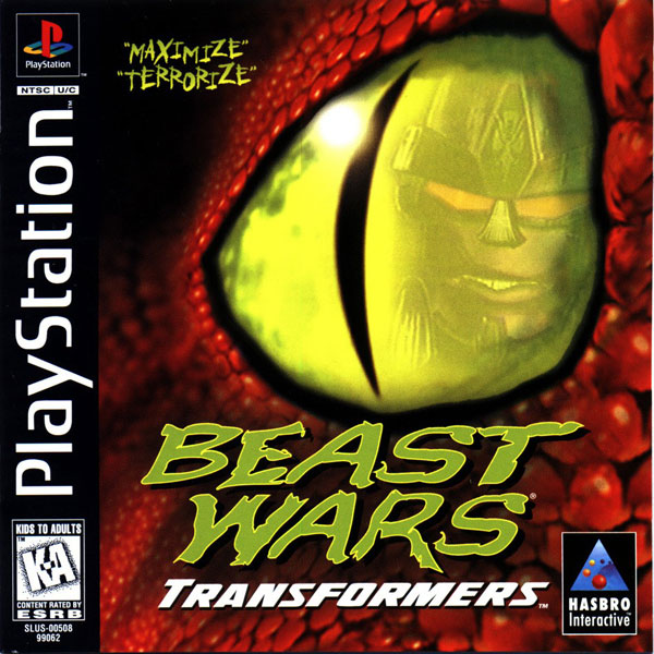 Beast Wars - Transformers Sony PlayStation cover artwork