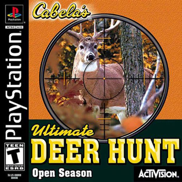 Cabela's Ultimate Deer Hunt - Open Season Sony PlayStation cover artwork