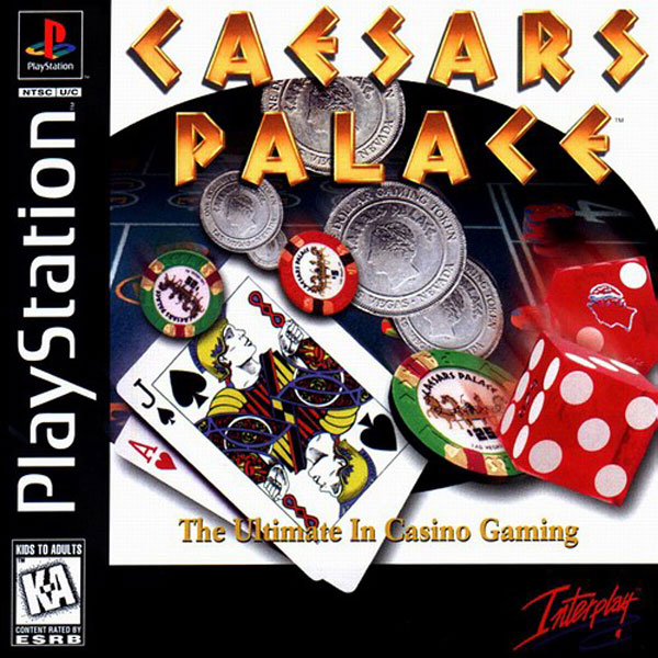 Caesars Palace Sony PlayStation cover artwork
