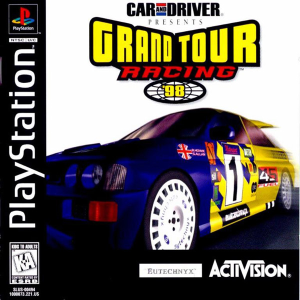 Grand Tour Racing '98 Sony PlayStation cover artwork