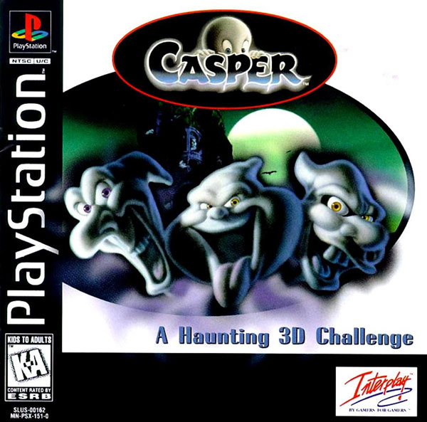 Casper Sony PlayStation cover artwork