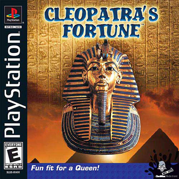 Cleopatra's Fortune Sony PlayStation cover artwork