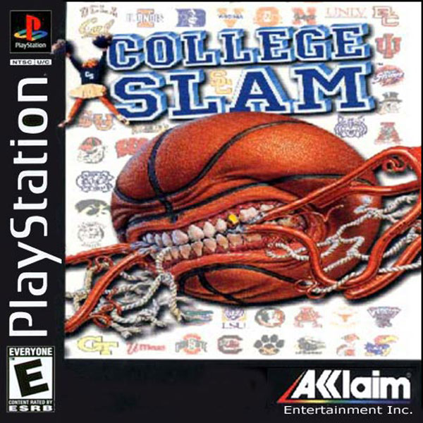 College Slam Sony PlayStation cover artwork