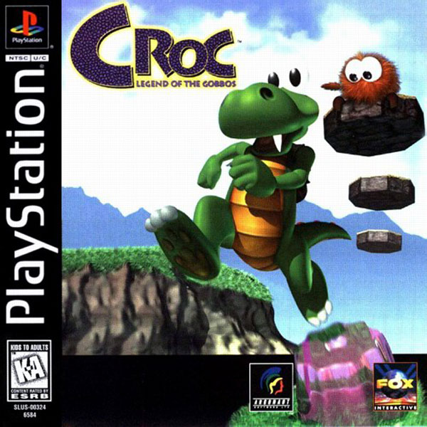 Croc - Legend of the Gobbos Sony PlayStation cover artwork