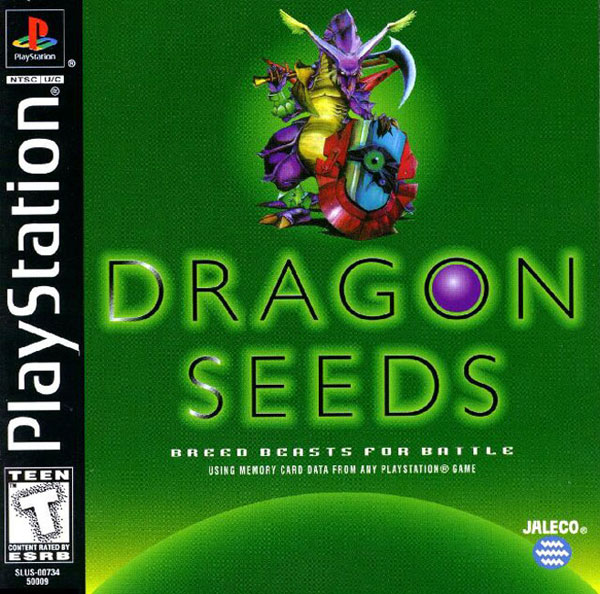 Dragon Seeds Sony PlayStation cover artwork