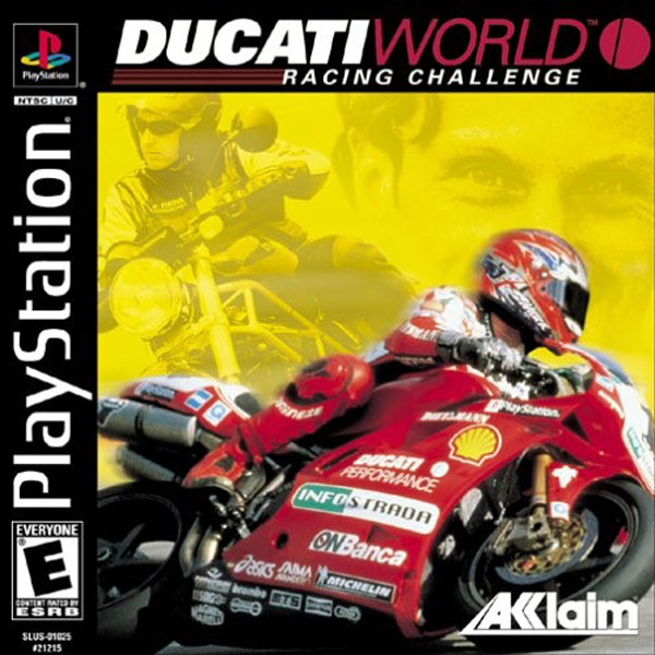 Ducati World - Racing Challenge Sony PlayStation cover artwork