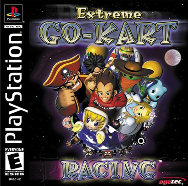 Extreme Go-Kart Racing Sony PlayStation cover artwork
