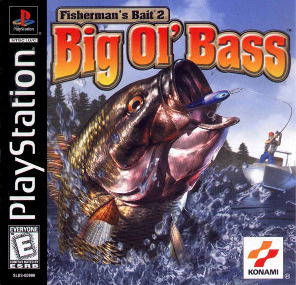 Fisherman's Bait 2 - Big Ol' Bass Sony PlayStation cover artwork