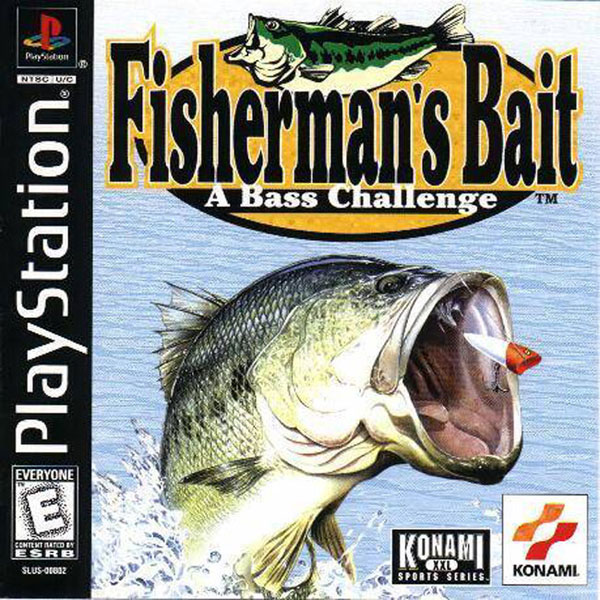 Fisherman's Bait - A Bass Challenge Sony PlayStation cover artwork