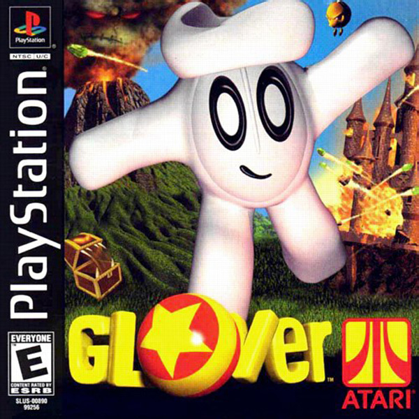Glover Sony PlayStation cover artwork