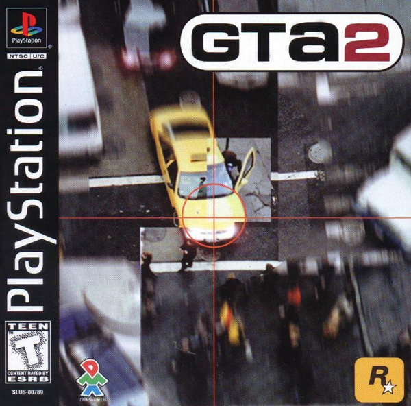 Grand Theft Auto 2 Sony PlayStation cover artwork