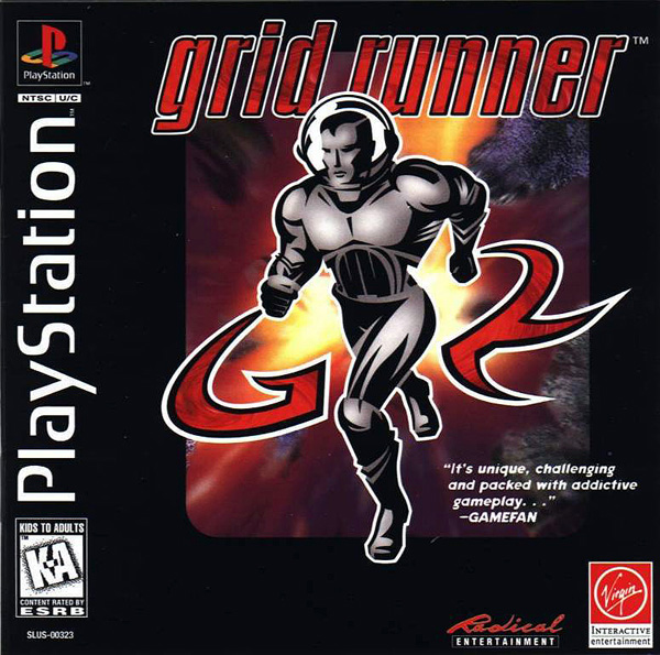 Grid Runner Sony PlayStation cover artwork