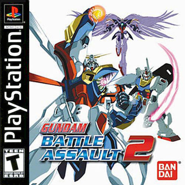 Gundam Battle Assault 2 Sony PlayStation cover artwork