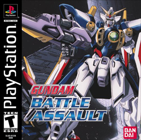 Gundam Battle Assault Sony PlayStation cover artwork