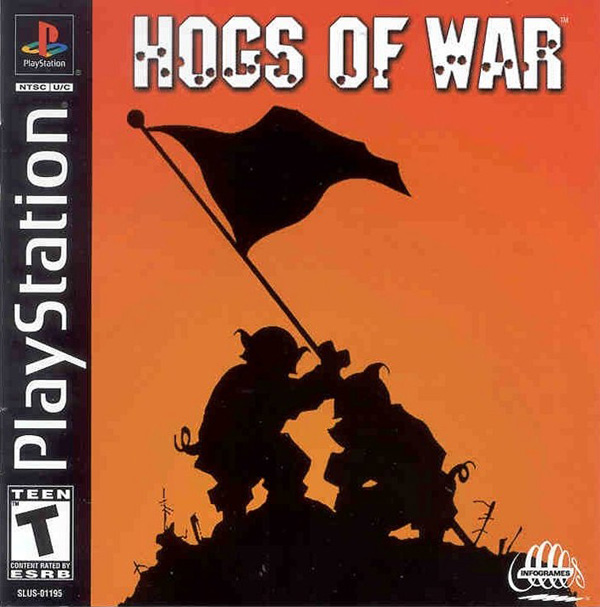 Hogs of War Sony PlayStation cover artwork