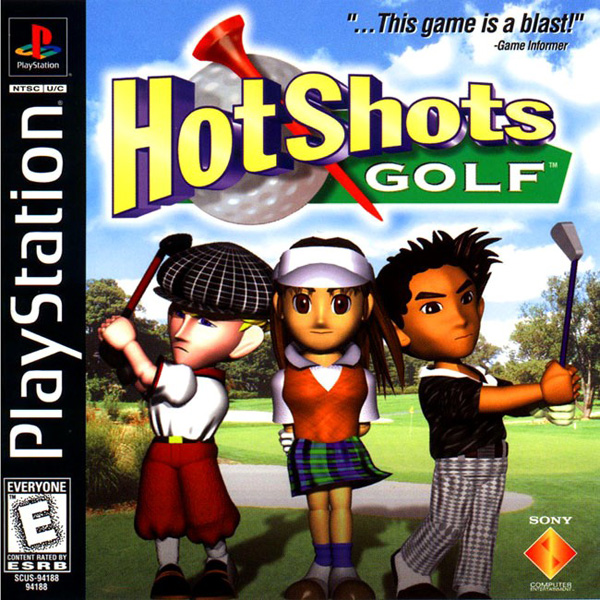 Hot Shots Golf - Everybody's Golf Sony PlayStation cover artwork