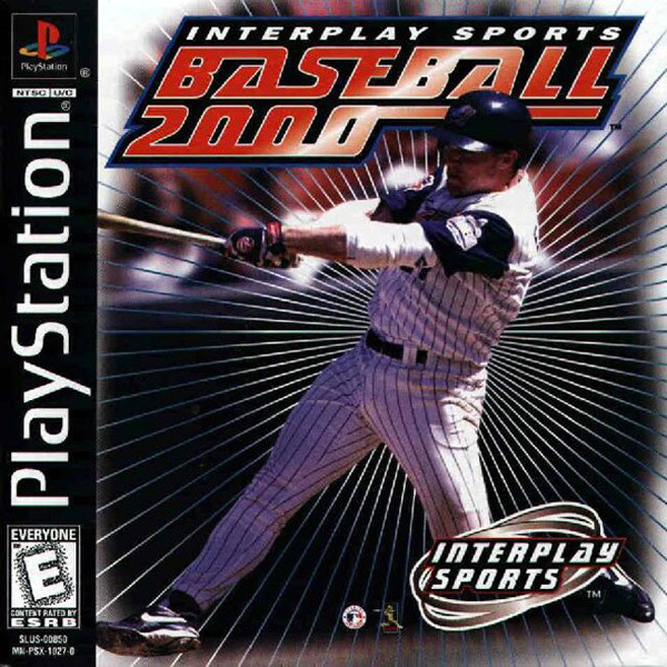 Interplay Sports Baseball 2000 Sony PlayStation cover artwork