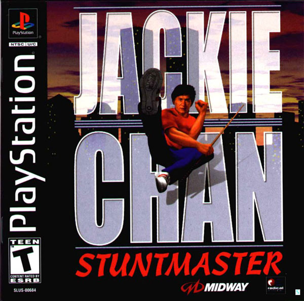 Jackie Chan Stuntmaster Sony PlayStation cover artwork