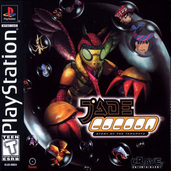 Jade Cocoon - Story of the Tamamayu Sony PlayStation cover artwork