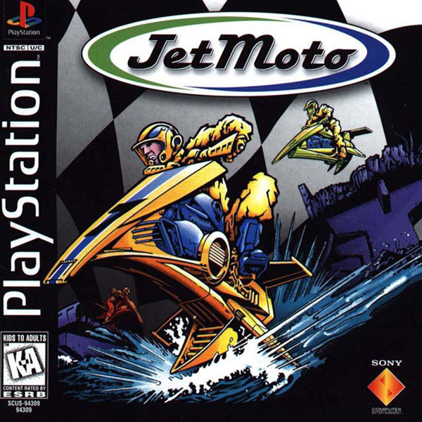 Jet Moto Sony PlayStation cover artwork