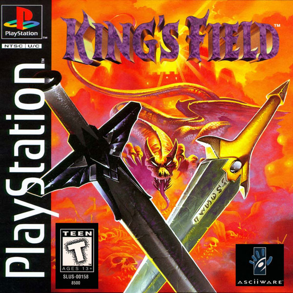 King's Field Sony PlayStation cover artwork
