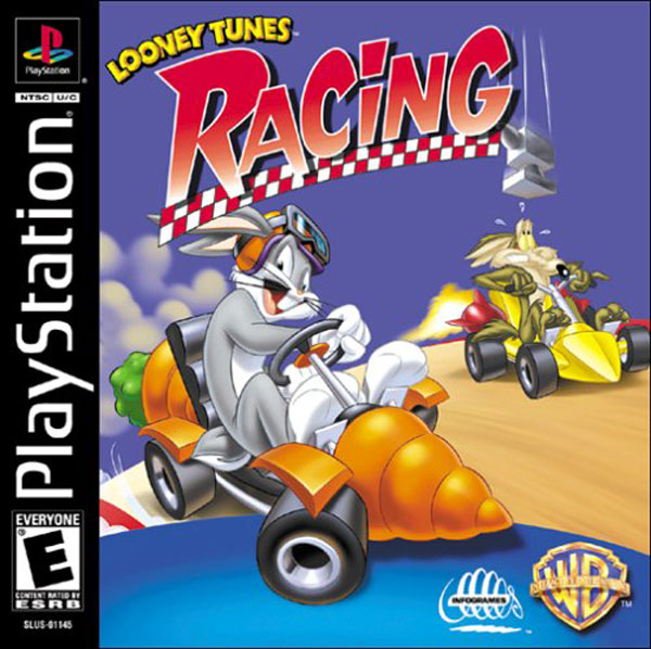 Looney Tunes Racing Sony PlayStation cover artwork