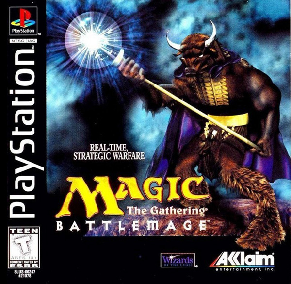Magic - The Gathering - BattleMage Sony PlayStation cover artwork