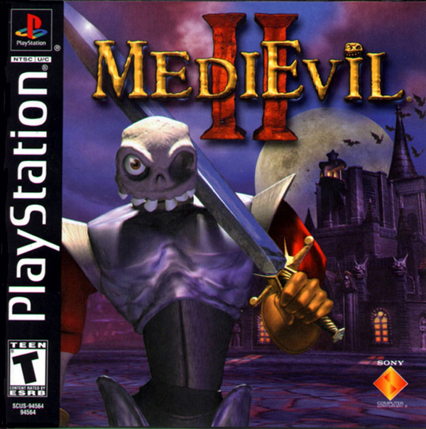 MediEvil II Sony PlayStation cover artwork