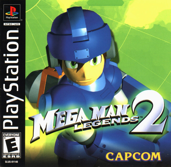 Mega Man Legends 2 Sony PlayStation cover artwork