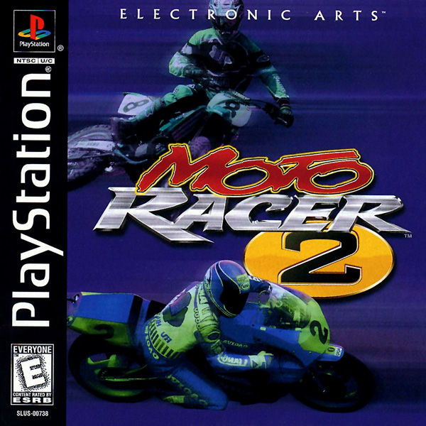 Moto Racer 2 Sony PlayStation cover artwork