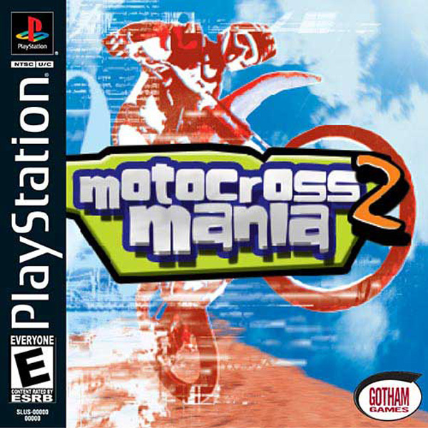 Motocross Mania 2 Sony PlayStation cover artwork