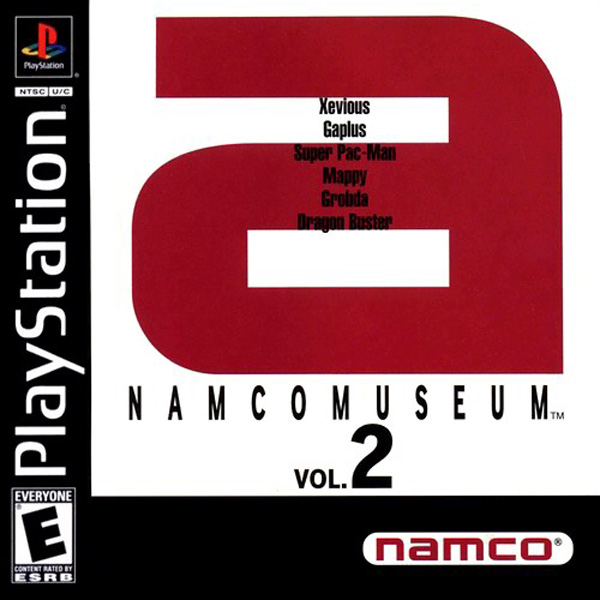 Namco Museum Vol. 2 Sony PlayStation cover artwork