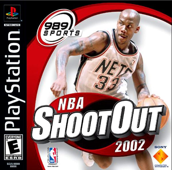NBA ShootOut 2002 Sony PlayStation cover artwork