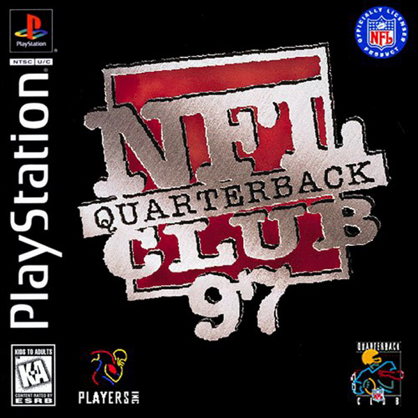 NFL Quarterback Club 97 Sony PlayStation cover artwork