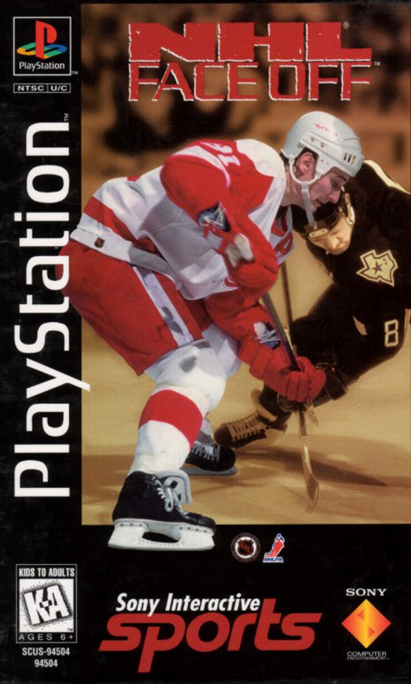NHL Face Off Sony PlayStation cover artwork